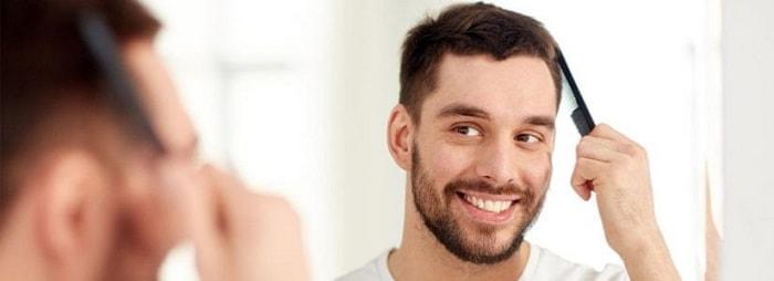موهای خود را بعد از کاشت مو به آرامی شانه کنید